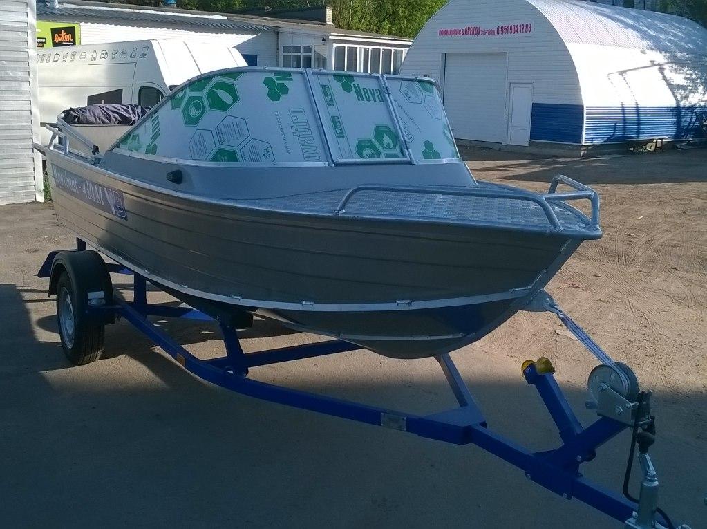 Катер Wyatboat 430М