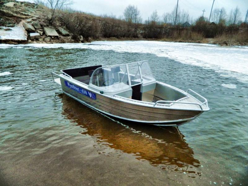 Катер Wyatboat 430DCМ