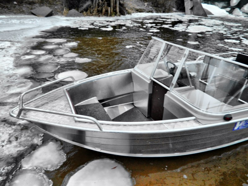 Лодки по мотор алюминевые