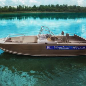Катер Wyatboat 460DCM
