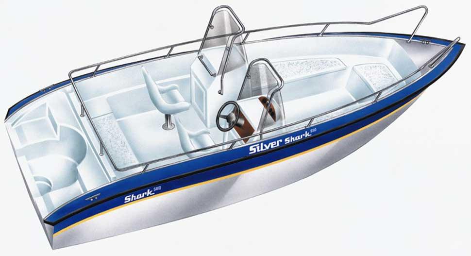 акула лодочные моторы