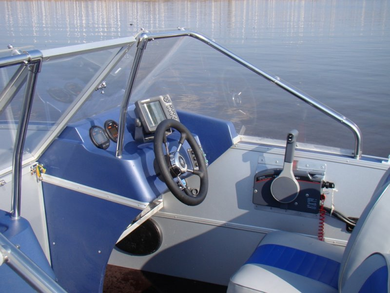 Кабина на лодку своими руками 42