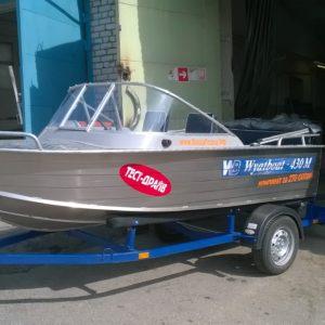 Wyatboat 430М + Mercury 30E