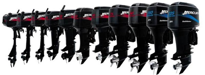 АКЦИЯ на лодочные моторы Mercury