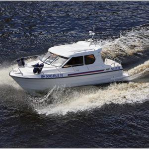 Композитный катер Vympel 8100