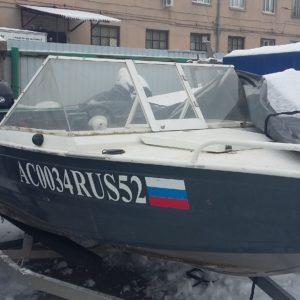 Мотолодка WindBoat 420Pro + Mercury 30E