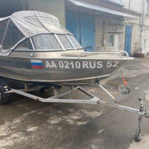 Windboat-42ME + Mercury 30E + Прицеп