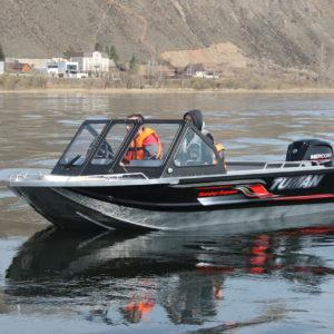 Алюминиевая лодка ТУМАН 510